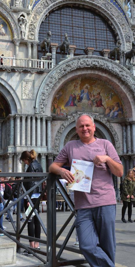 Klönschnack in Venedig