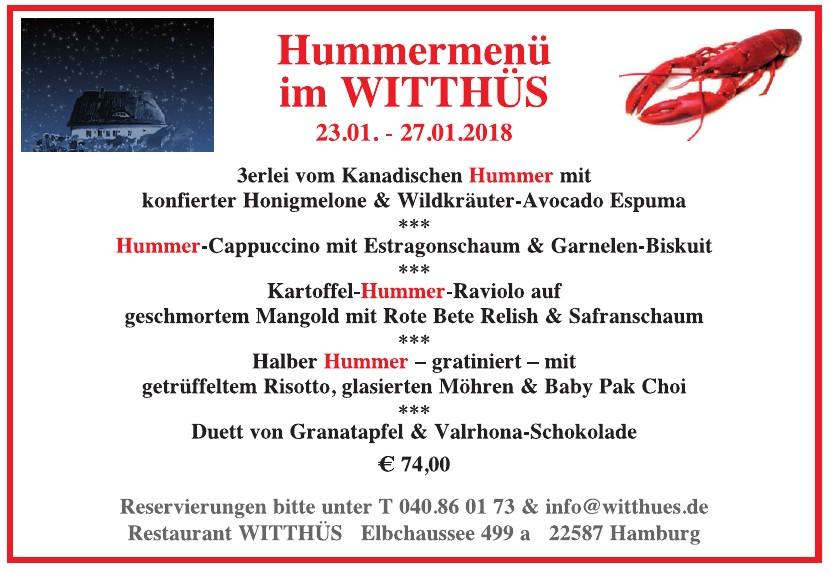Witthüs - Das Restaurant & Café in Blankenese