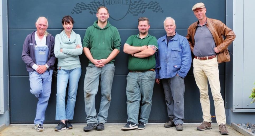 Das Mirbach & Seemann-Team freut sich auf Sie!