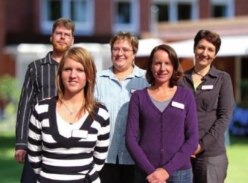 Das Pflegeteam vom Hartwig Hesse Haus
