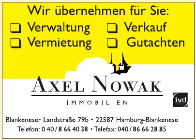 Axel Nowak Immobilien