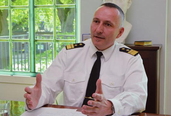 Konteradmiral Carsten Stawitzki wechselt ins Verteidigungsministerium