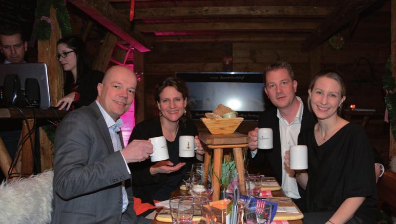 Volker und Christina Carstens (Atelier Schon), Christian und Nathalie Dunger (WDI Media GmbH)