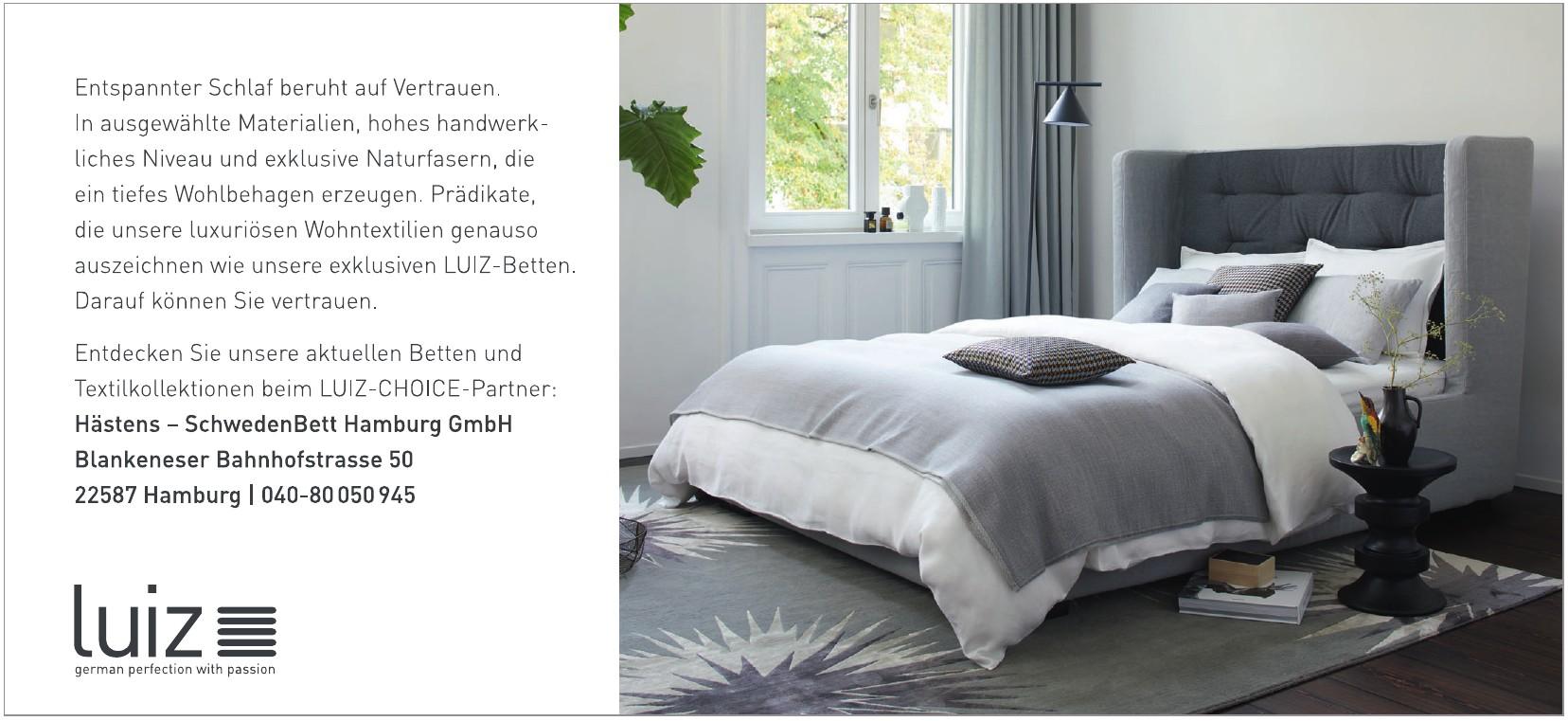 Hästens - SchwedenBett Hamburg GmbH