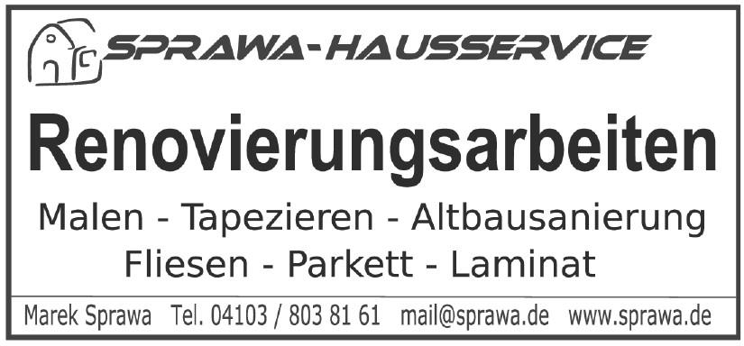 Sprawa-Hausservice - Marek Sprawa