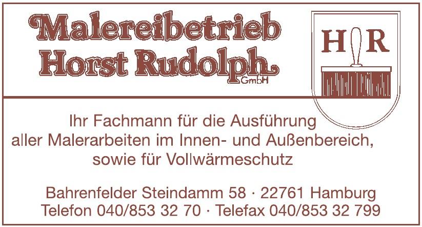 Malereibetireb Horst Rudolph GmbH
