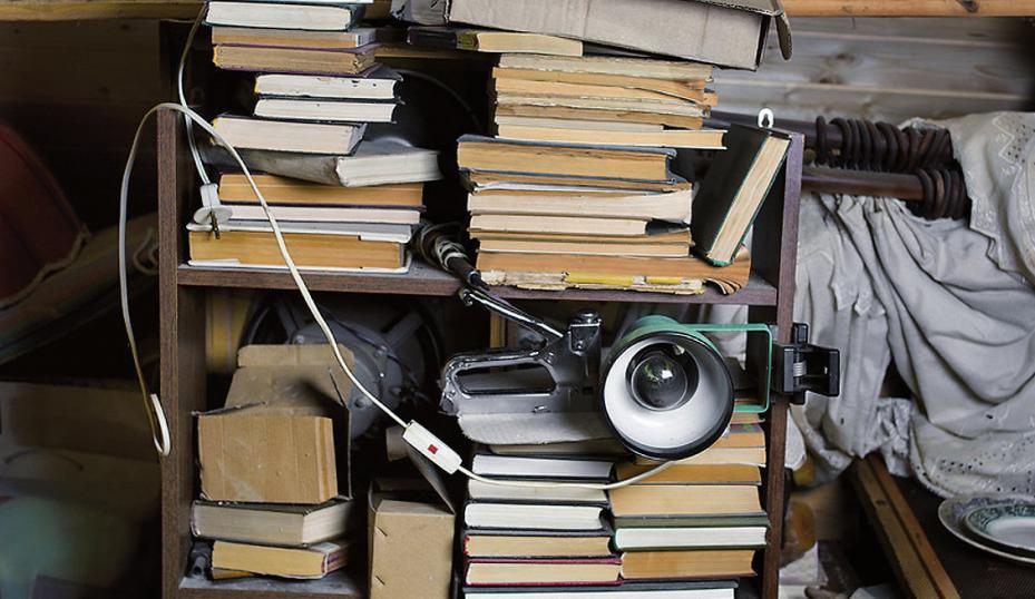Chaotische Wohnsituation spiegelt seelischen Ballast wieder FOTO: VECTORASS_FOTOLIA.COM