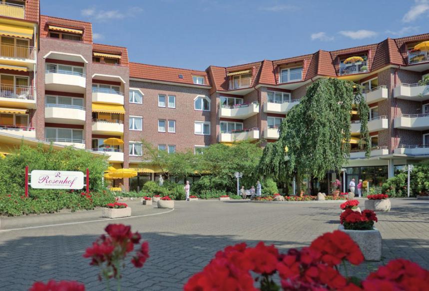 Der Rosenhof in der Isfeldstraße