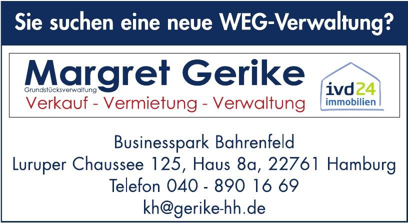 Margret Gerike Grundstücksverwaltung