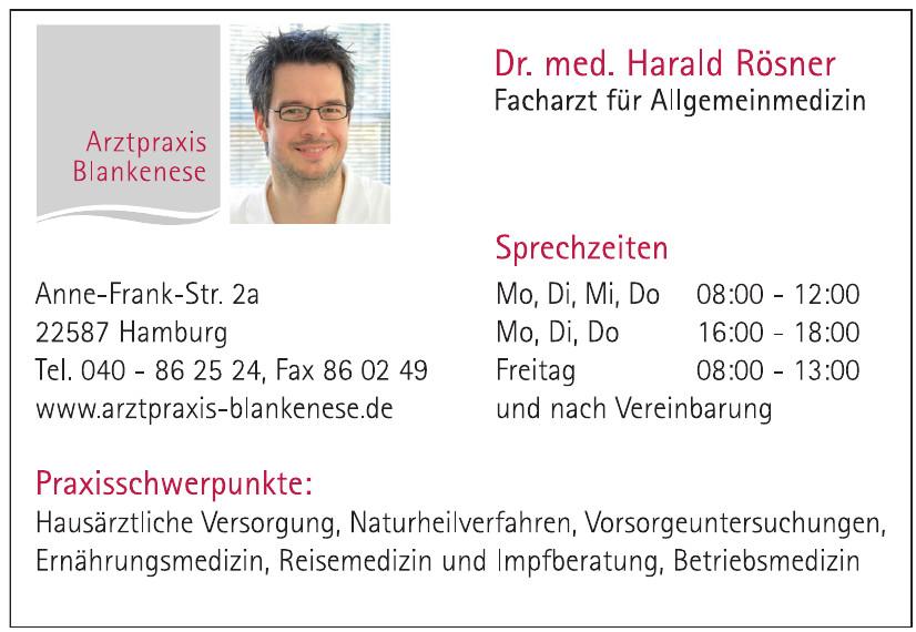 Dr. med. Harald Rösner