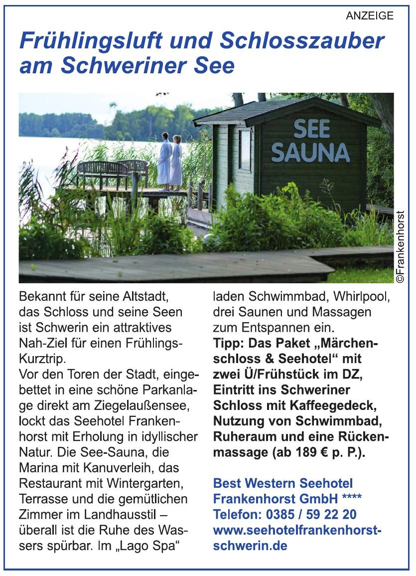 Best Western Seehotel Frankenhorst GmbH****