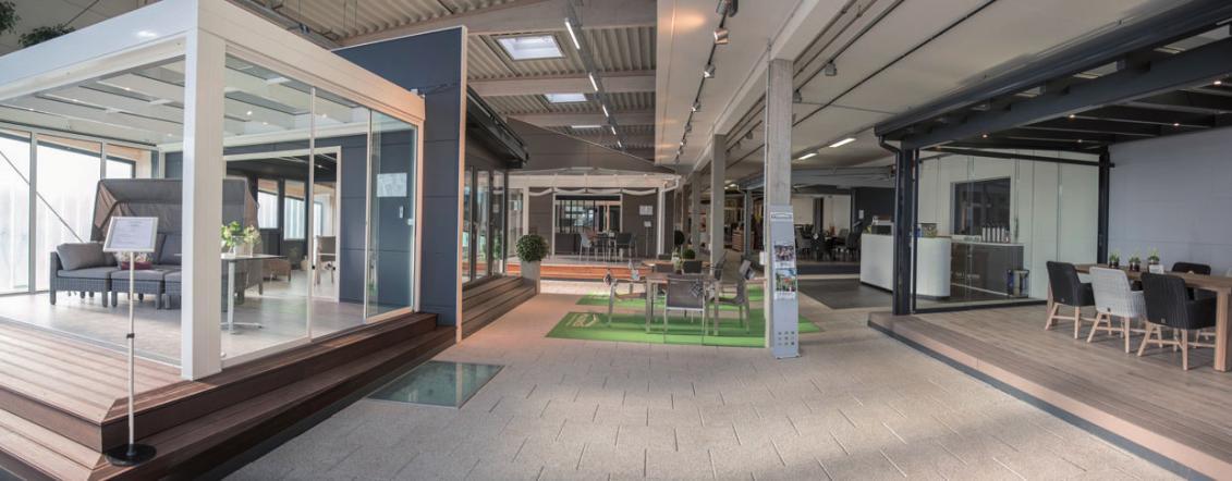 Besuchen Sie die größte Indoorausstellung für Terrassen - dächer und mehr FOTO: ©ALEXANDER SCHULZ