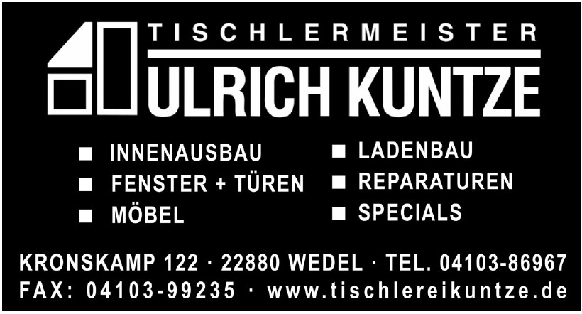 Tischlermaeister Ulrich Kuntze