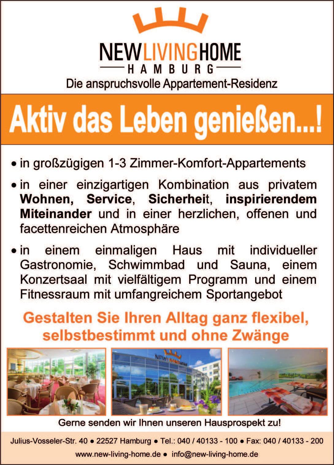 Kommanditgesellschaft RESIDENZHOTEL HAMBURG GmbH & Co.