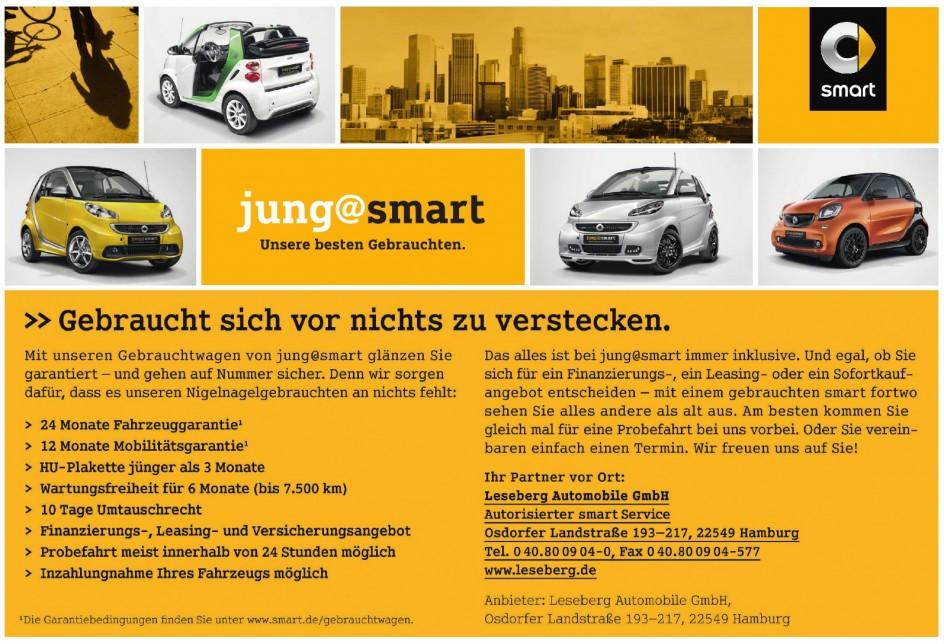 Leseberg Automobile GmbH, Autorisierter smart Service