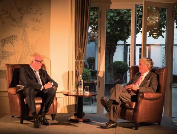 """""""Lebenslauf""""-Gespräch: Klaus Schümann mit Albert Darboven im Jacob"""