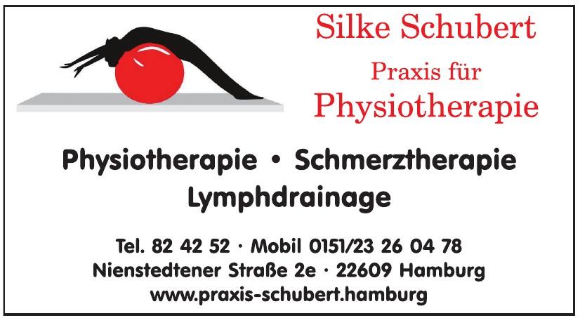 Silke Schubert, Physiotherapie