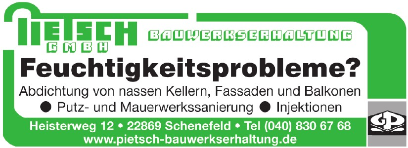 Pietsch - Bauwerkserhaltung GmbH