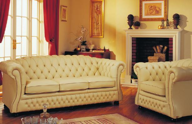 Klassisch englischer Stil mit Chesterfield-Möbeln