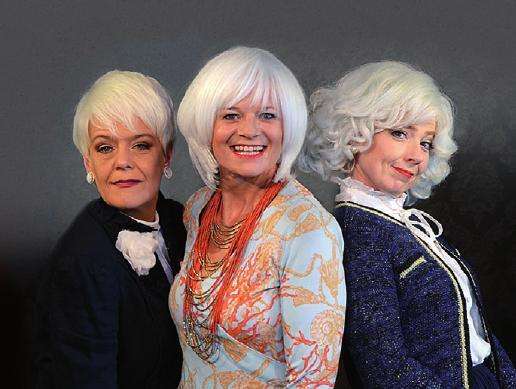 Die Hauptdarstellerinnen des Dauerwellen-Musicals im Engelsaal, FOTO: © FOTO-ANHALT.DE