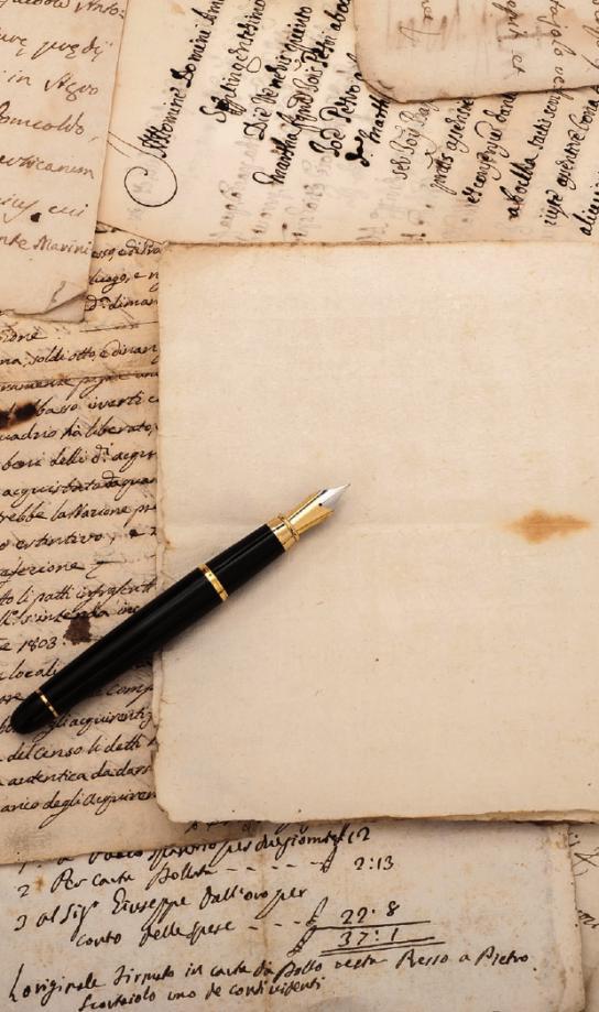 Persönliche Briefe werden sorgfältig verwahrt, um damit Erinnerungen aufzufrischenFOTO: SCISETTI ALFIO-FOTOLIA_FOTOLIA.COM