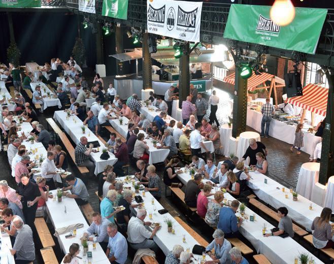 Rund 1.000 Gäste waren beim Matjesfestival dabei