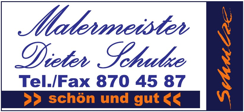 Malermeister Dieter Schutze