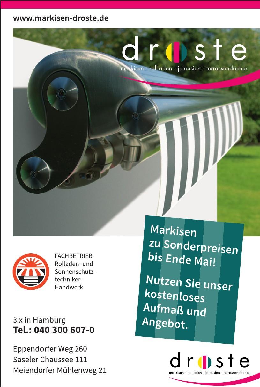 Markisen-Droste Sonnenschutzsysteme GmbH