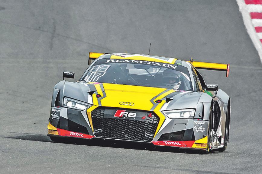 Audi R8 erfolgreich im GT3-Motorsport Foto: WE/ WMD
