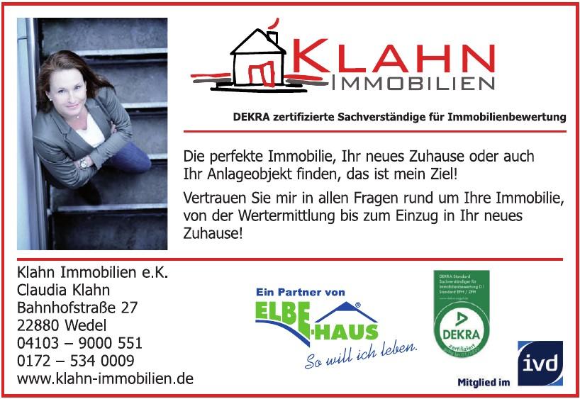 Klahn Immobilien e.K. Claudia Klahn