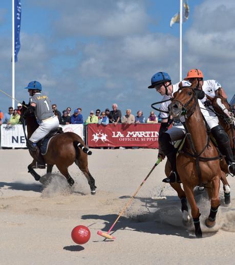 Polo am Sylter Sandstand begeistert die Zuschauer