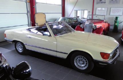 Mercedes Benz 500 SL von 1981
