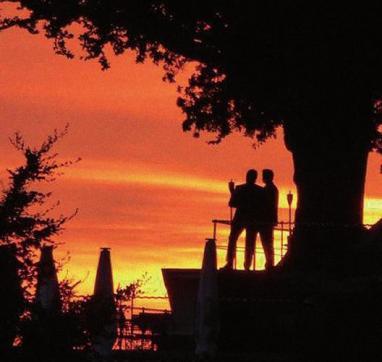Ein beeindruckender Abend auf dem Süllberg, FOTO: GRÜTZNER