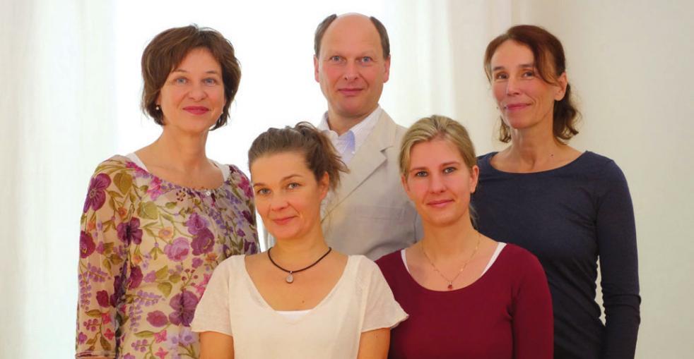 Monika Schmitt (links) und ihr Team