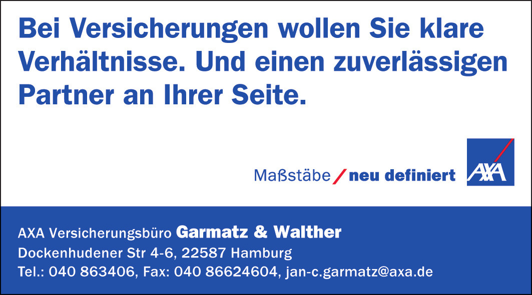 AXA Versicherungsbüro Garmatz & Walther