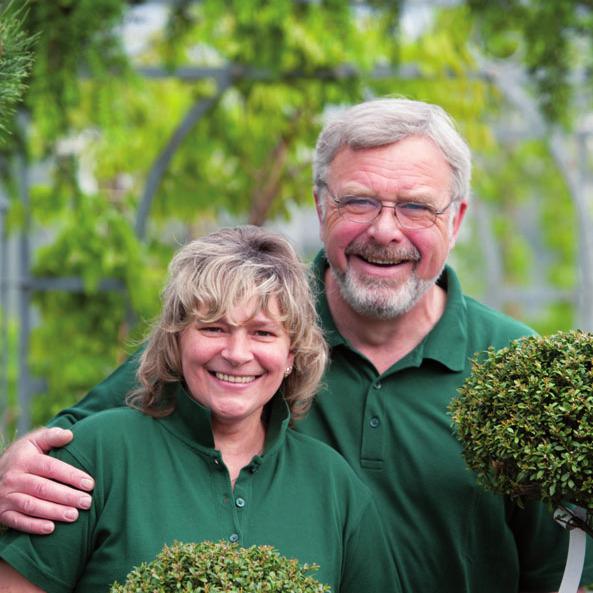 Werner und Iris Pein vom Blumenhof Pein FOTO: ©HEIKE GÜNTHER