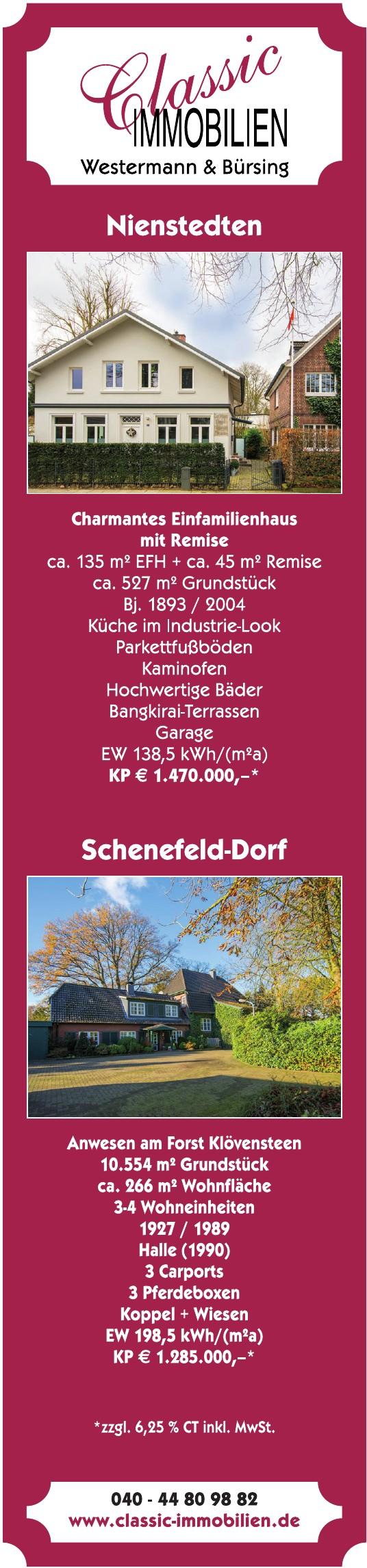 Classic Immobilien Westermann & Bürsing
