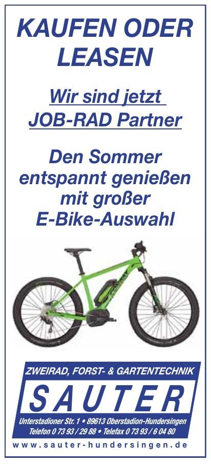 Zweirad Forst- & Gartentechnik Sauter