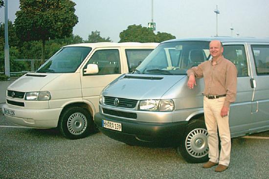 Rudi Winschel hat zwei Busse für seinen Reisedienst im Einsatz