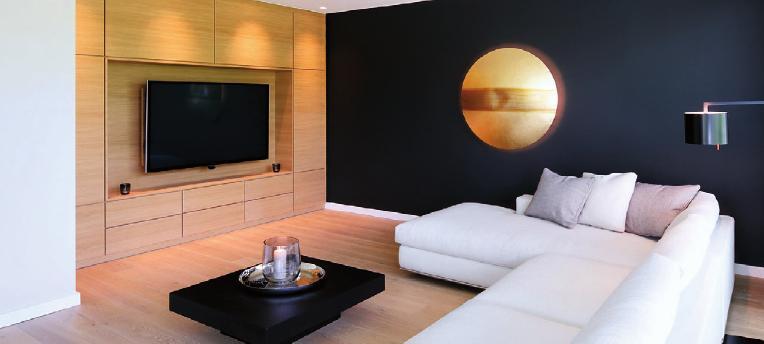 Wohnzimmergestaltung von Mollwitz Massivbau