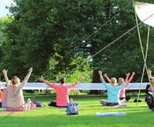 Yoga-Festival in Planten un Blomen