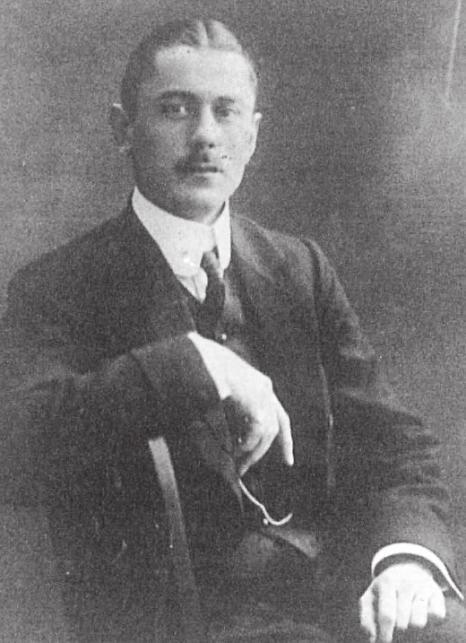 Johannes Kröger jr. im Juni 1919 FOTO: KRÖGERS FAMILIENGESCHICHTE (PRIVAT)