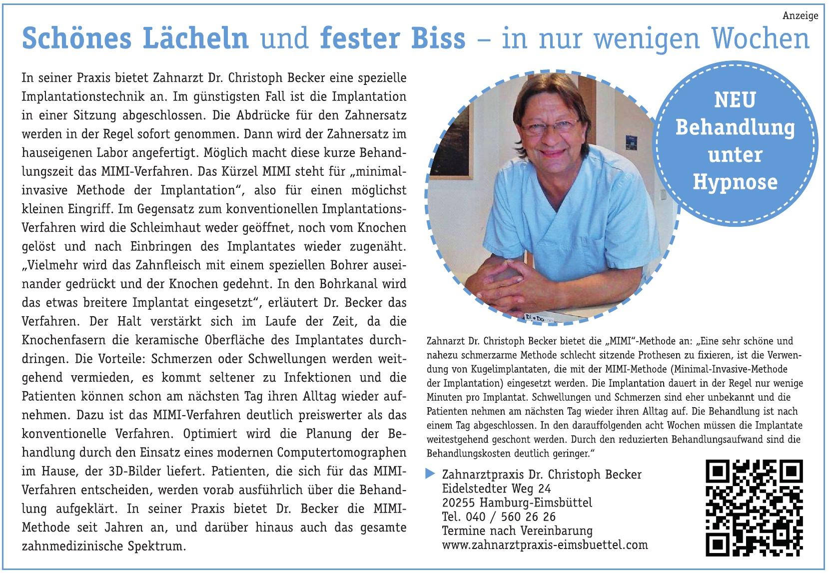 Zahnarztpraxis Dr. Christoph Becker