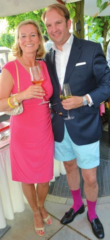 Immobilienunternehmer Hilmar von Bülow mit Ehefrau Stefanie