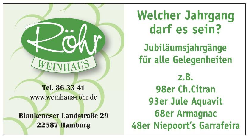 Röhr Weinhaus