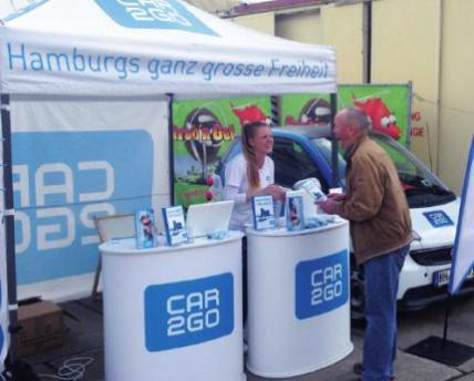 "Carsharing ""Car2go"" jetzt auch in Blankenese"