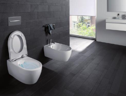 Innovation für mehr Hygiene im Bad – das spülrandlose WC, FOTO: © KERAMAG