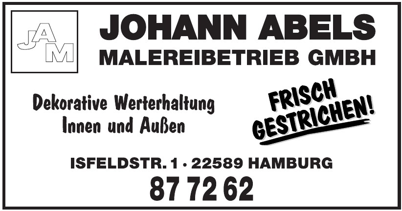 Johann Abels Malereibetrieb GmbH