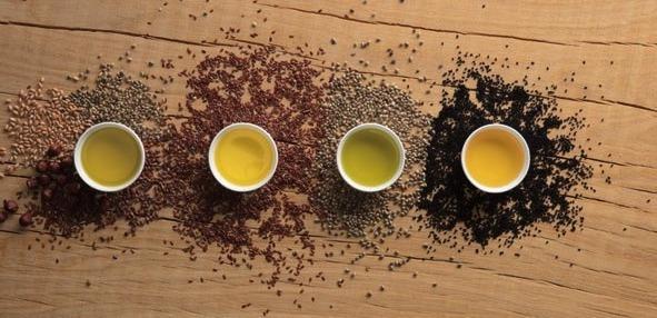 Öle machen gesund und fit – genießen Sie sie im Müsli oder Salat