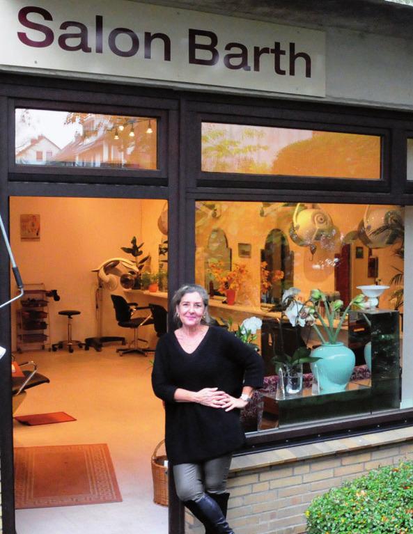 Friseurmeisterin Kathrin Barth